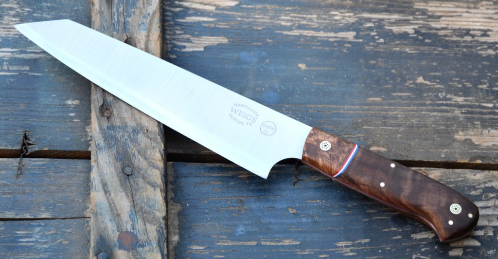 Weige Knives donates to AMS