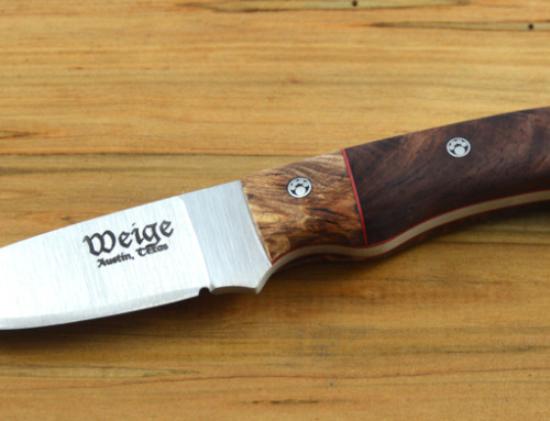 Weige Knives donates to Austin Bar Association annual fundraising gala.