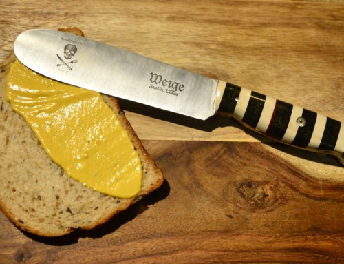 Weige Knives collaborates w/ Wares ATX on art show.