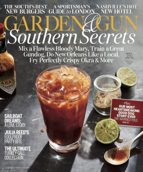 Weige Knives in latest issue of Garden & Gun Magazine