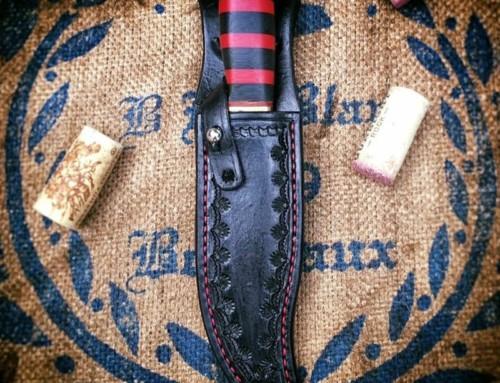 Weige Knives refurbishes Vietnam War era knife.